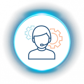 iLuma-About Us-glow icons-Delivers Outstanding Customer Services